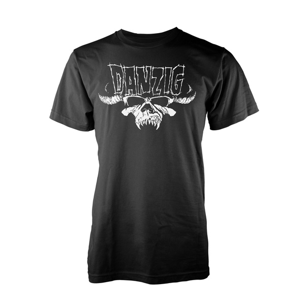 DANZIG, classic logo (boy) black cover