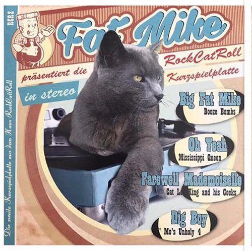 V/A, die rock cat roll kurzspielplatte vol. 2 cover