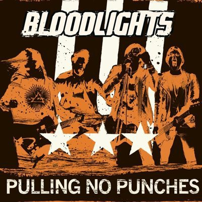 Cover BLOODLIGHTS, pulling no punches