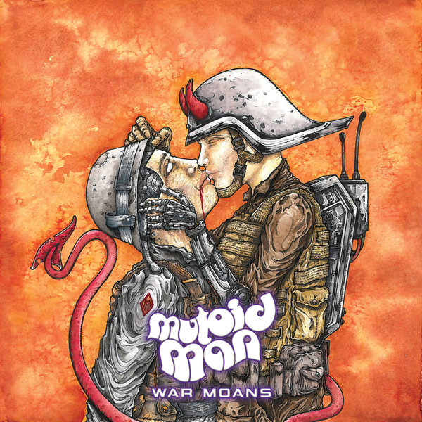 Cover MUTOID MAN, war moans