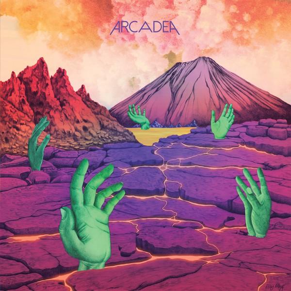 ARCADEA, s/t cover