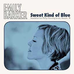 Cover EMILY BARKER, sweet kind of blue