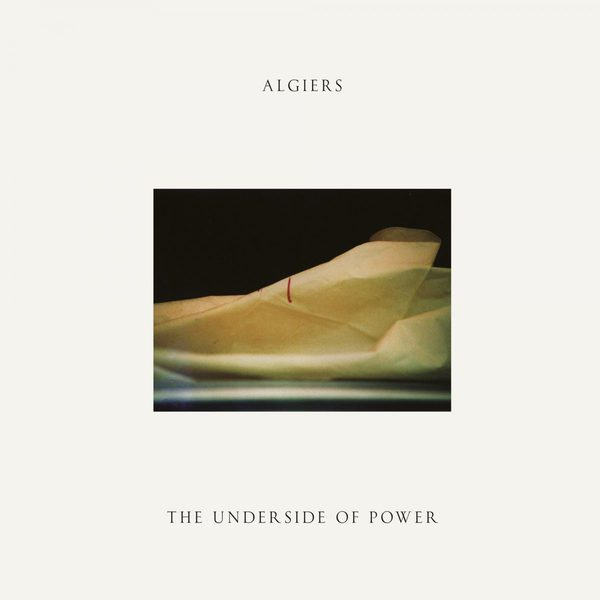 ALGIERS, the underside of power cover