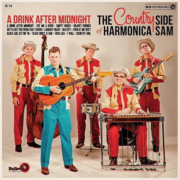 Cover COUNTRY SIDE OF HARMONICA SAM, a drink after midnight