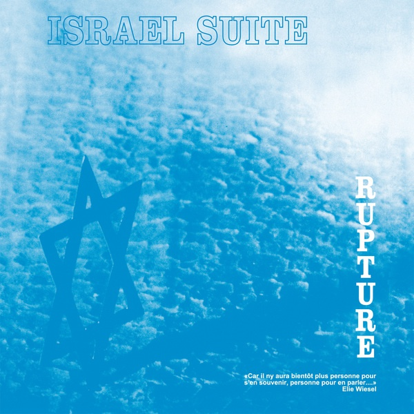 Cover RUPTURE (FR), israel suite / dominante
