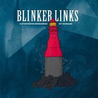 BLINKER LINKS, achterträger kronkorken mit schraube cover