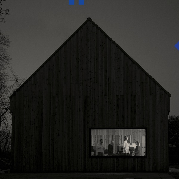 Cover NATIONAL, sleep well beast (blue vinyl)