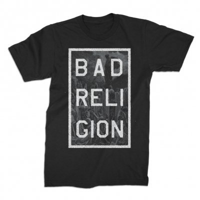 Cover BAD RELIGION, valley of death (boy) black