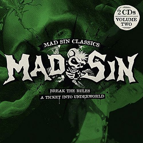 Cover MAD SIN, break the rules / a ticket into underworld