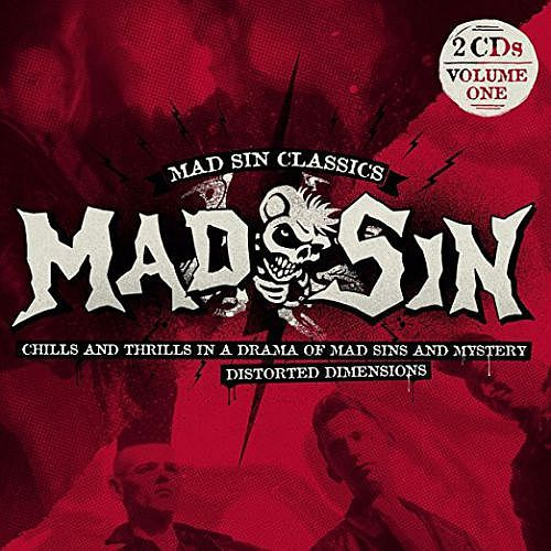 Cover MAD SIN, chills and thrills / distorted dimensions