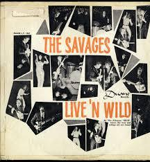 SAVAGES ( US), live and wild cover
