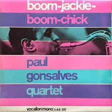 PAUL GONSALVES, boom cover
