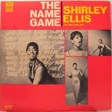 SHIRLEY ELLIS, the name game cover