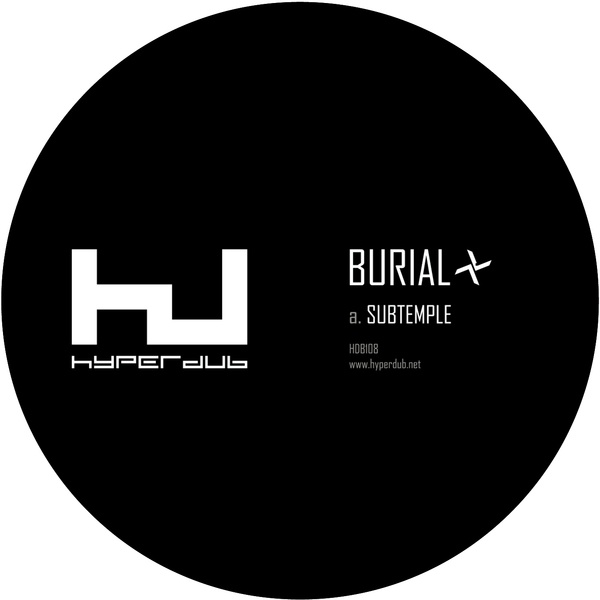 BURIAL, subtemple/beachfires cover