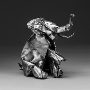 JLIN, black origami cover