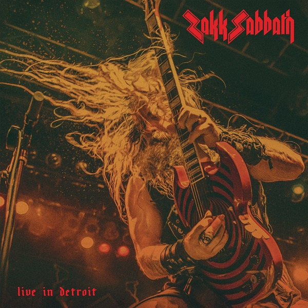 ZAKK SABBATH, live in detroit cover