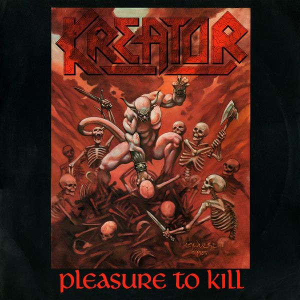 KREATOR, pleasure to kill cover