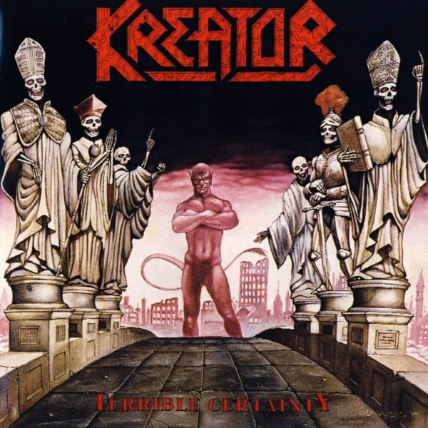 KREATOR, terrible certainty cover