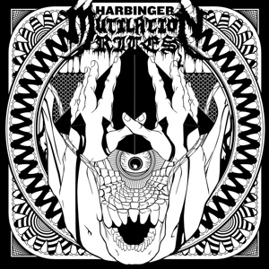 MUTILATION RITES, harbinger cover