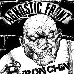 Cover AGNOSTIC FRONT, iron chin