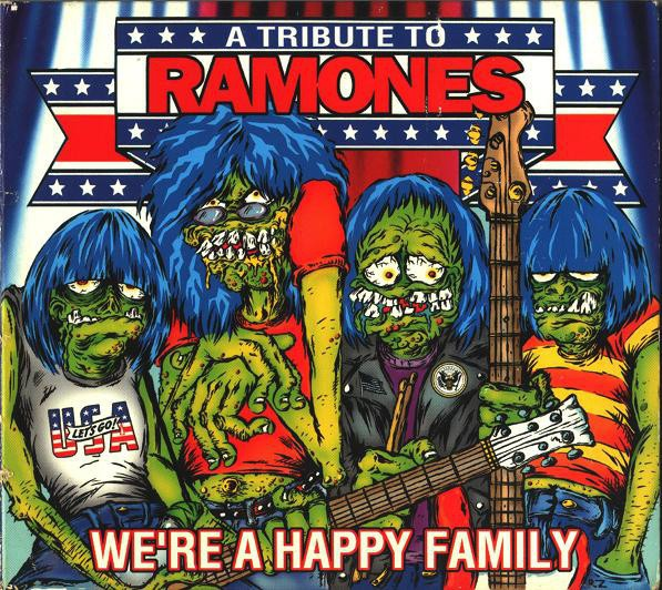 Cover V/A, a tribute to ramones