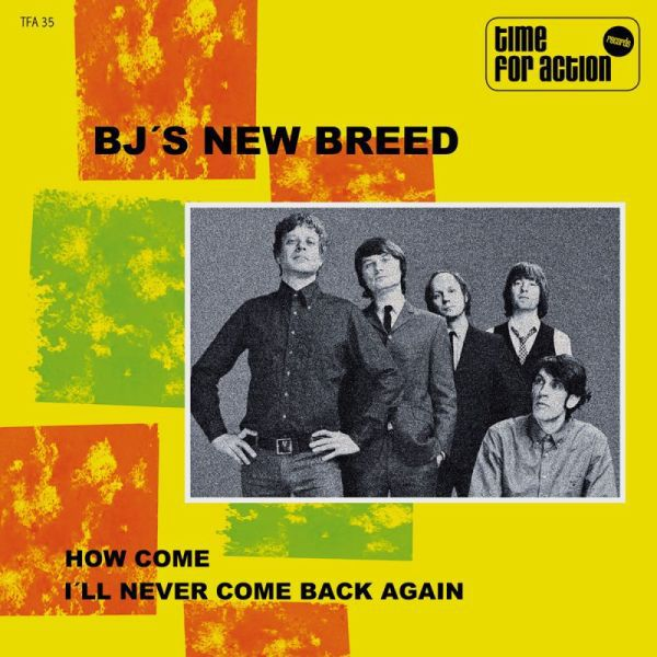 BJ´S NEW BREED, how come cover