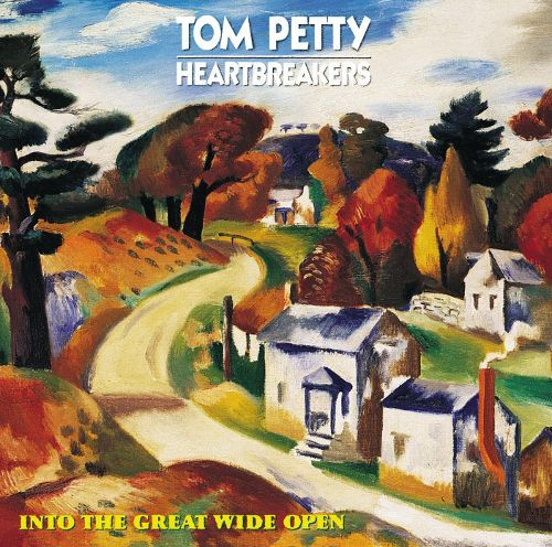 TOM PETTY & THE HEARTBREAKERS, into the great wide open cover