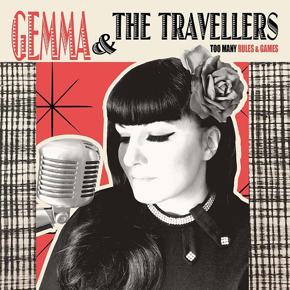 Cover GEMMA & THE TRAVELLERS, too many rules & games