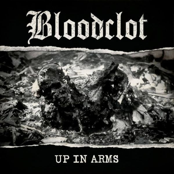 BLOODCLOT, up in arms cover