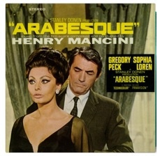 Cover O.S.T., arabesque (henry mancini)