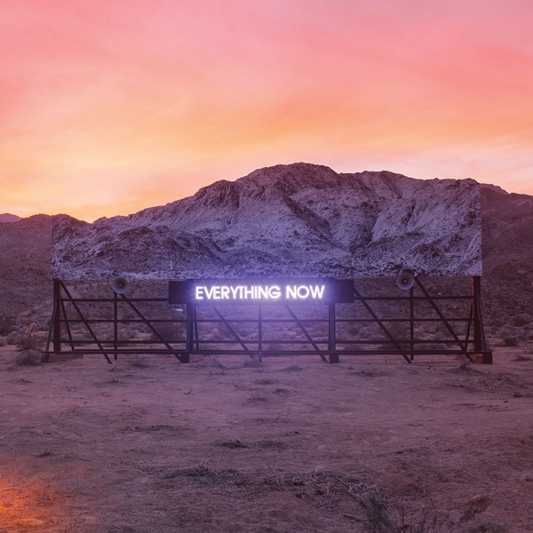 ARCADE FIRE, everything now (day version) cover
