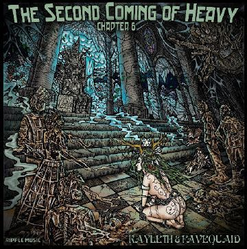Cover KAYLETH & FAVEQUAID, second coming of  heavy