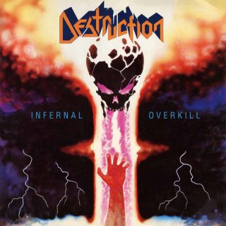 Cover DESTRUCTION, infernal overkill