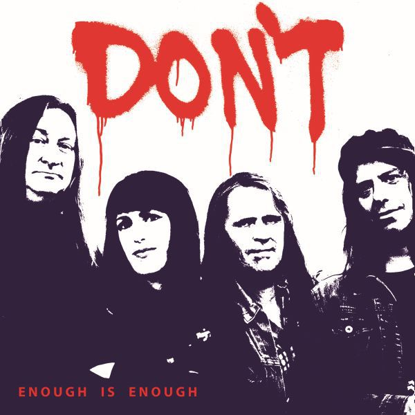 Cover DON´T, enough is enough