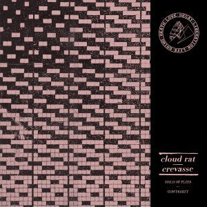 Cover CLOUD RAT / CREVASSE, split