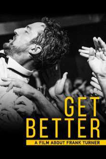 FRANK TURNER, get better: a film about frank turner cover
