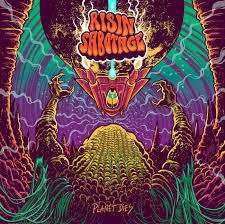 Cover RISIN SABOTAGE, planet dies