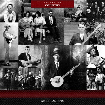 Cover V/A, american epic - the best of country