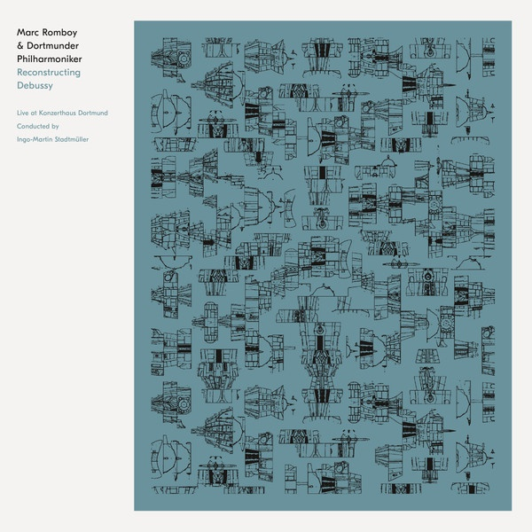MARC ROMBOY & DORTMUNDER PHILARMONIKER, reconstructing debussy cover