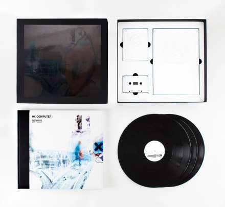 RADIOHEAD, ok computer oknotok 1997-2017 cover