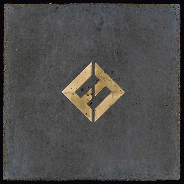 FOO FIGHTERS, concrete and gold cover