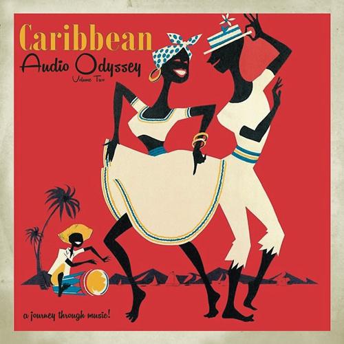 V/A, caribbean audio odyssey vol. 2 cover