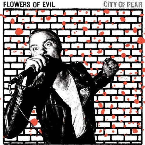Cover FLOWERS OF EVIL, city of fear
