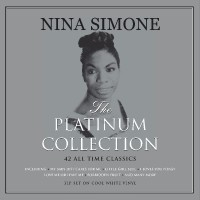 NINA SIMONE, platinum collection cover