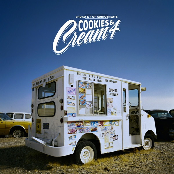 Cover SHUKO & F. Of AUDIOTREATS, cookies and cream 4