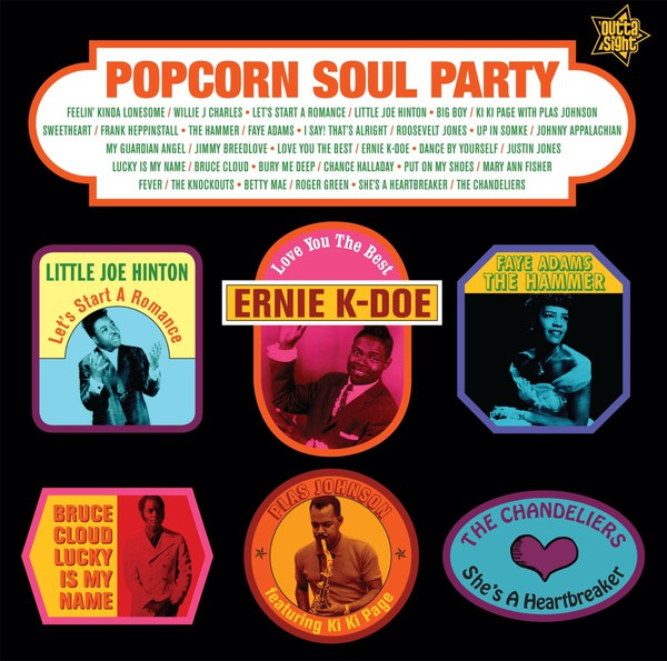 Cover V/A, popcorn soul party - blended soul and r&b 1958-62