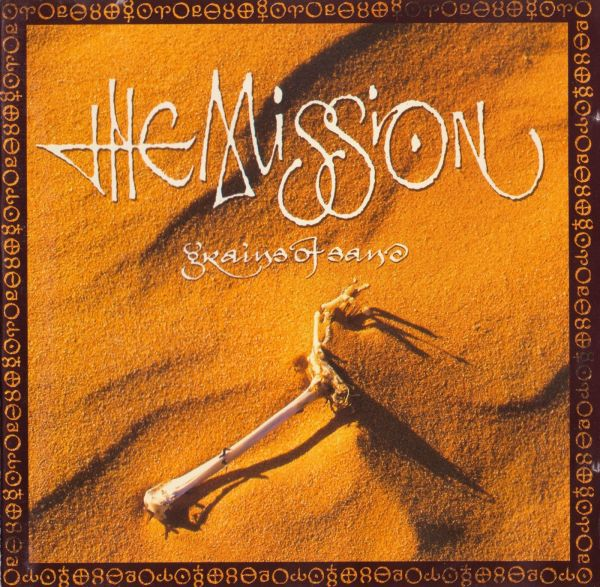 THE MISSION, grains of sand cover