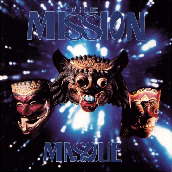 THE MISSION, masque cover