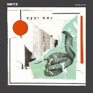 METZ, strange peace cover