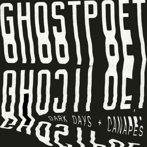 Cover GHOSTPOET, dark days & canapés